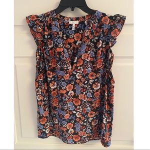 Joie floral patterned blouse